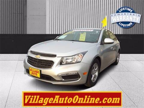 2015 Chevrolet Cruze for sale at Village Auto in Green Bay WI