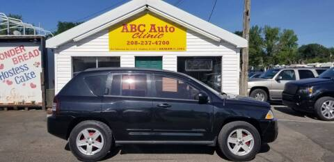 2010 Jeep Compass for sale at ABC AUTO CLINIC in Chubbuck ID