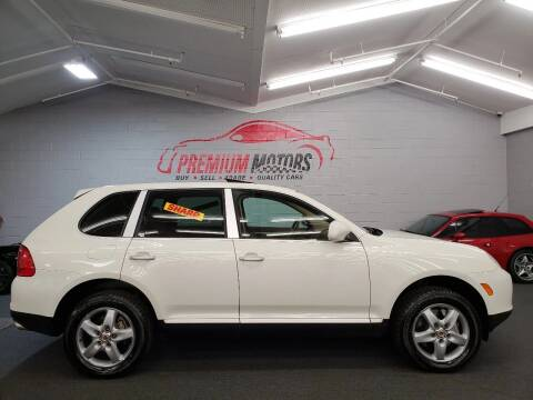2004 Porsche Cayenne for sale at Premium Motors in Villa Park IL