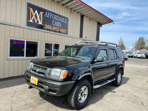2000 Nissan Xterra for sale at M & A Affordable Cars in Vancouver WA