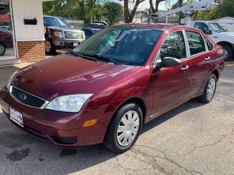 2007 Ford Focus for sale at New Wheels in Glendale Heights IL