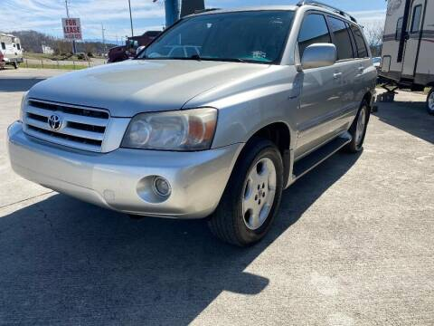 2006 Toyota Highlander for sale at Autoway Auto Center in Sevierville TN