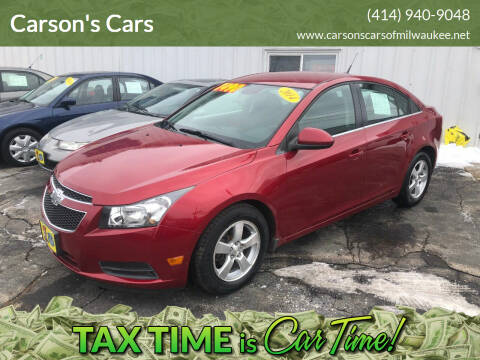 2014 Chevrolet Cruze for sale at Carson's Cars in Milwaukee WI