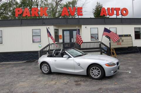 2004 BMW Z4 for sale at Park Ave Auto Inc. in Worcester MA