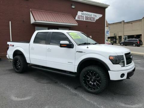 2014 Ford F-150 for sale at Middle Tennessee Auto Brokers LLC in Gallatin TN