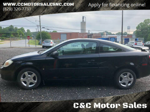 2008 Chevrolet Cobalt for sale at C&C Motor Sales LLC in Hudson NC