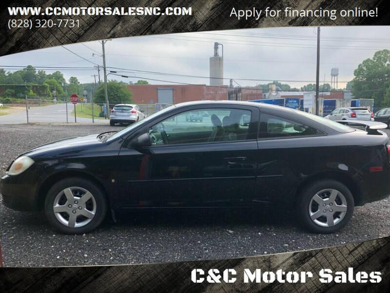 2008 Chevrolet Cobalt for sale at C&C Motor Sales LLC in Hudson NC