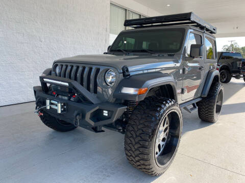 2020 Jeep Wrangler for sale at Powerhouse Automotive in Tampa FL