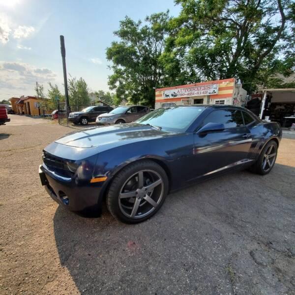 2011 Chevrolet Camaro for sale at JPL Auto Sales LLC in Denver CO