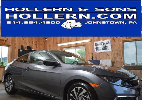 2019 Honda Civic for sale at Hollern & Sons Auto Sales in Johnstown PA