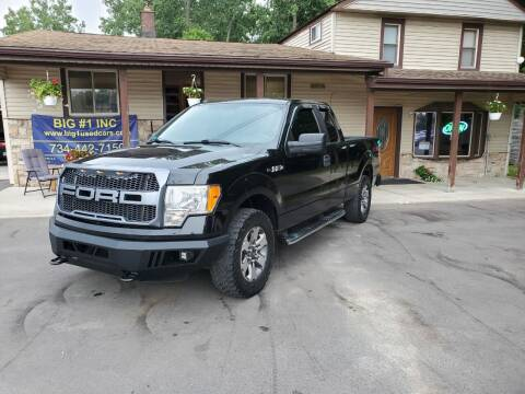 2011 Ford F-150 for sale at BIG #1 INC in Brownstown MI