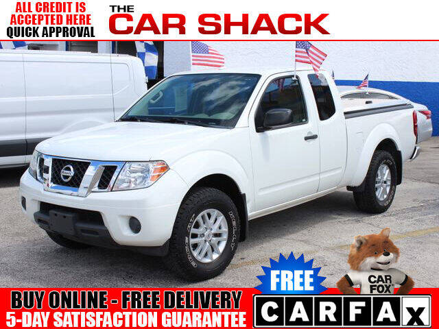 2015 Nissan Frontier for sale at The Car Shack in Hialeah FL