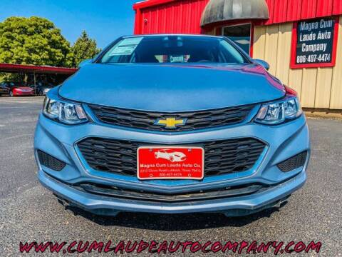 2017 Chevrolet Cruze for sale at MAGNA CUM LAUDE AUTO COMPANY in Lubbock TX