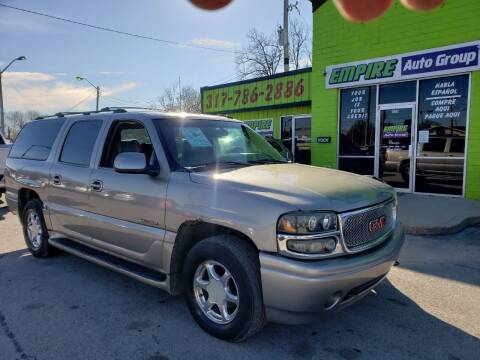 2002 GMC Yukon XL for sale at Empire Auto Group in Indianapolis IN