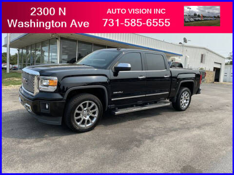 2014 GMC Sierra 1500 for sale at Auto Vision Inc. in Brownsville TN
