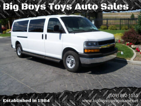 2019 Chevrolet Express Passenger for sale at Big Boys Toys Auto Sales in Spokane Valley WA