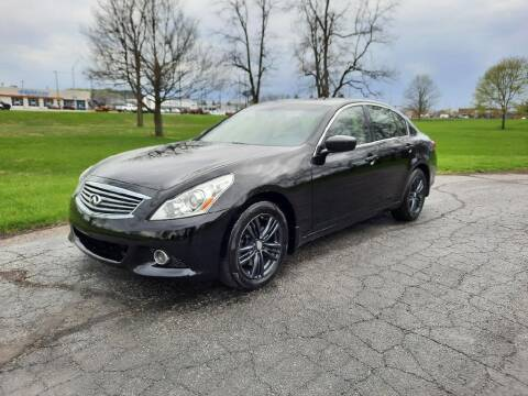 2012 Infiniti G37 Sedan for sale at Moundbuilders Motor Group in Heath OH
