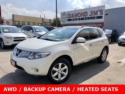 2010 Nissan Murano for sale at Diamond Jim's West Allis in West Allis WI