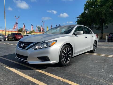 2018 Nissan Altima for sale at LKG Auto Sales Inc in Miami FL