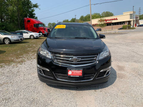 2016 Chevrolet Traverse for sale at Community Auto Brokers in Crown Point IN