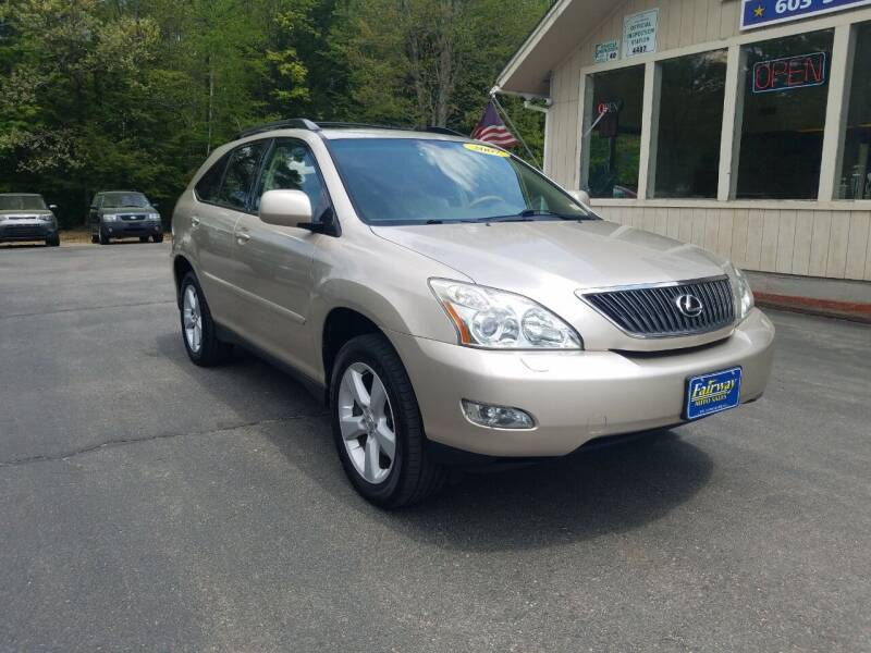 2007 Lexus RX 350 for sale at Fairway Auto Sales in Rochester NH