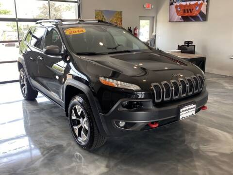 2014 Jeep Cherokee for sale at Crossroads Car & Truck in Milford OH