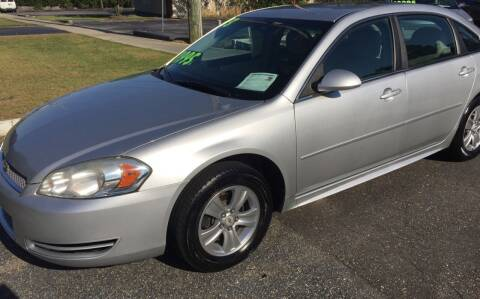 2013 Chevrolet Impala for sale at TOP OF THE LINE AUTO SALES in Fayetteville NC
