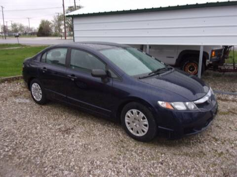 2010 Honda Civic for sale at VANDALIA AUTO SALES in Vandalia MO