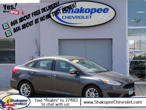 2017 Ford Focus for sale at SHAKOPEE CHEVROLET in Shakopee MN