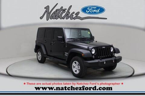 2015 Jeep Wrangler Unlimited for sale at Auto Group South - Natchez Ford Lincoln in Natchez MS