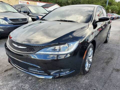 2015 Chrysler 200 for sale at Mars auto trade llc in Kissimmee FL
