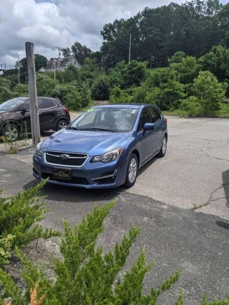 2016 Subaru Impreza for sale at WEB NIK Motors in Fitchburg MA