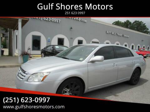 2007 Toyota Avalon for sale at Gulf Shores Motors in Gulf Shores AL