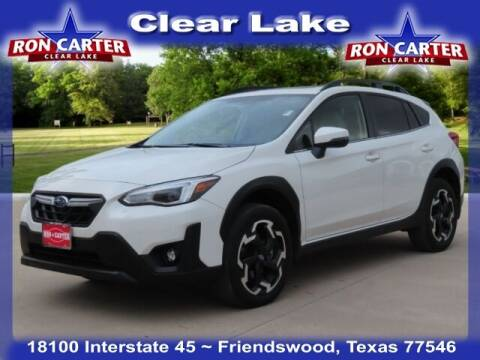 2021 Subaru Crosstrek for sale at Ron Carter  Clear Lake Used Cars in Houston TX