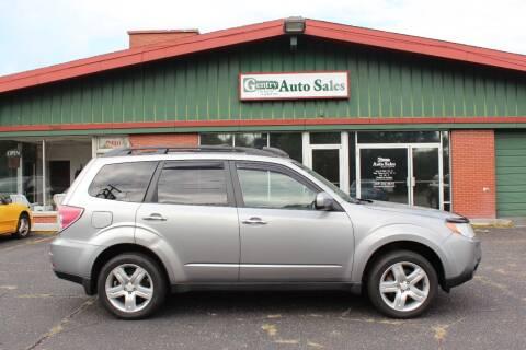 2009 Subaru Forester for sale at Gentry Auto Sales in Portage MI