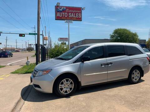 2013 Honda Odyssey for sale at SP Enterprise Autos in Garland TX