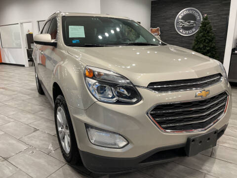 2016 Chevrolet Equinox for sale at Evolution Autos in Whiteland IN