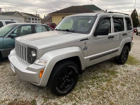 2012 Jeep Liberty for sale at Claborn Motors, LLC. in Cambridge City IN