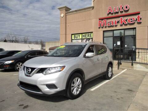 2014 Nissan Rogue for sale at Auto Market in Oklahoma City OK