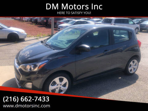 2020 Chevrolet Spark for sale at DM Motors Inc in Maple Heights OH