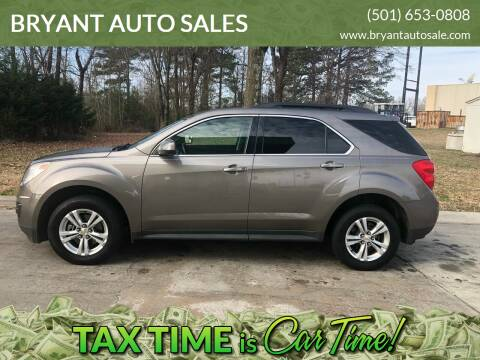 2011 Chevrolet Equinox for sale at BRYANT AUTO SALES in Bryant AR