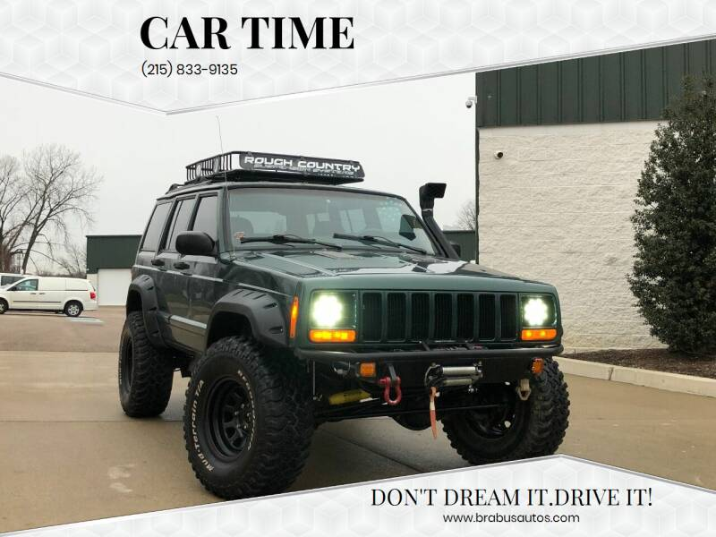 2000 Jeep Cherokee for sale at Car Time in Philadelphia PA