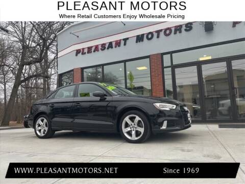 2017 Audi A3 for sale at Pleasant Motors in New Bedford MA