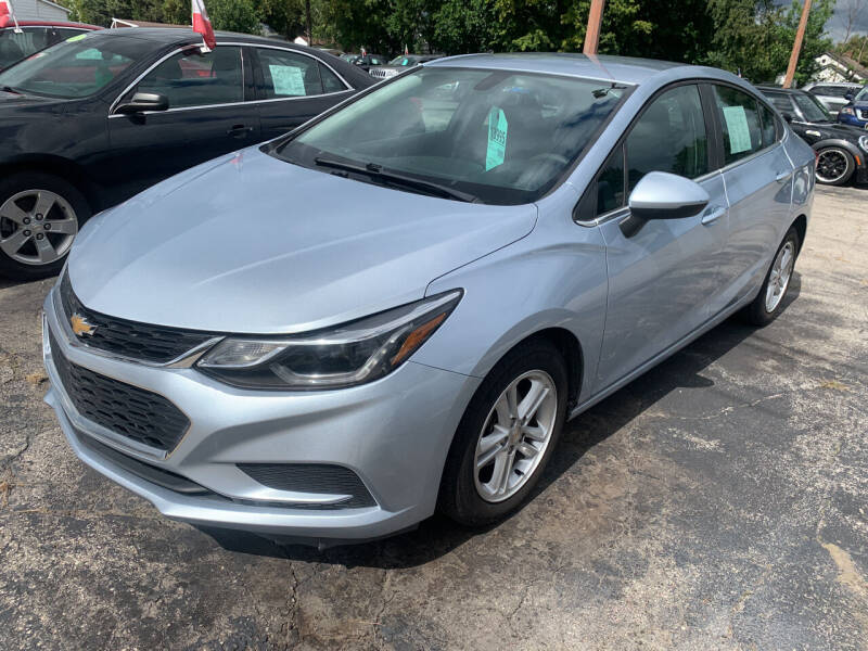 2018 Chevrolet Cruze for sale at PAPERLAND MOTORS - Fresh Inventory in Green Bay WI