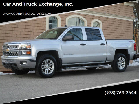 2014 Chevrolet Silverado 1500 for sale at Car and Truck Exchange, Inc. in Rowley MA