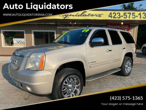 2009 GMC Yukon for sale at Auto Liquidators in Bluff City TN