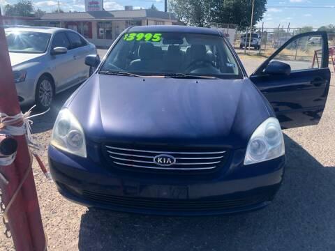 2006 Kia Optima for sale at Senor Coche Auto Sales in Las Cruces NM
