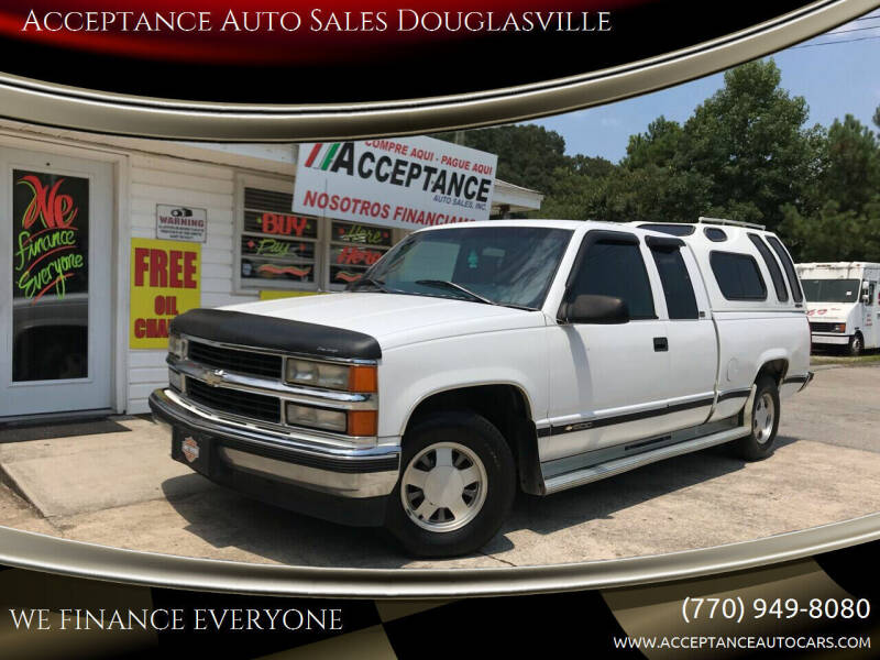 1997 Chevrolet C/K 1500 Series for sale at Acceptance Auto Sales Douglasville in Douglasville GA