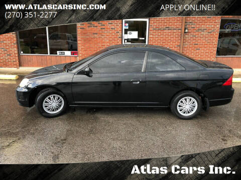 2003 Honda Civic for sale at Atlas Cars Inc. in Radcliff KY