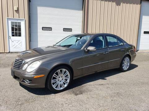 2008 Mercedes-Benz E-Class for sale at Massirio Enterprises in Middletown CT